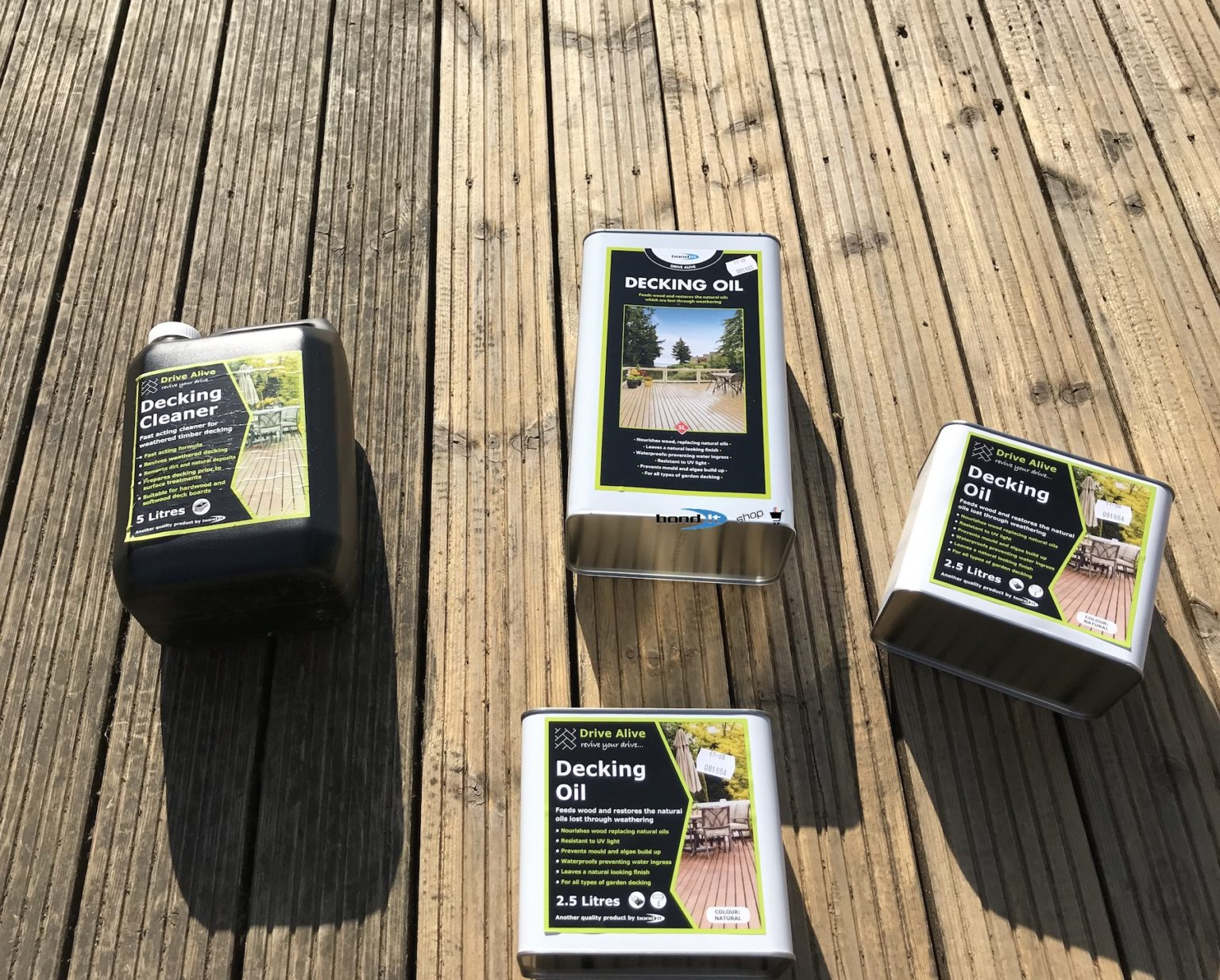 Decking Revival with Deck Cleaner & Oil