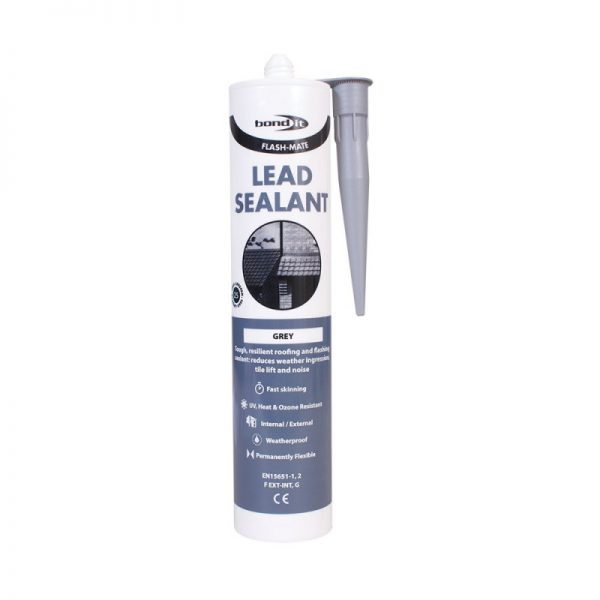 Lead Flashing Edging Roofing Sealant Sealer Flash Mate Roofing Tile Slate Like Silicone