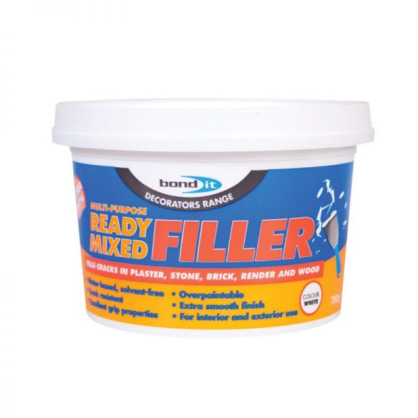 Bond It MULTI-PURPOSE READY MIXED FILLER White 750g