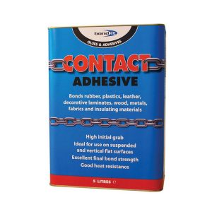 Bond It CONTACT ADHESIVE Premium Grade Beige 5 Litre