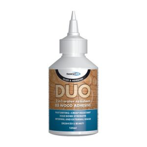Bond It DUO 2 IN 1 WOOD GLUE White 125ml