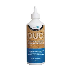 Bond It DUO 2 IN 1 WOOD GLUE White 500ml