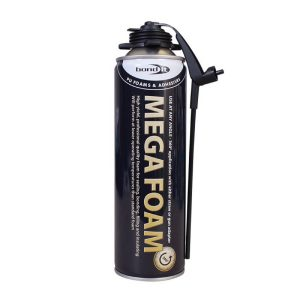 Bond It MEGA FOAM PU EXPANDING FOAM Aerosol 500ml Beige