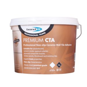 Bond It PREMIUM CTA TILE ADHESIVE Professional Non-Slip Tile Adhesive Off White 15Kg