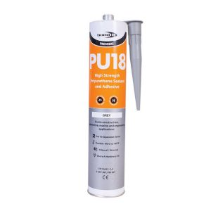 Bond It Premiere Range PU18 POLYURETHANE ADHESIVE & SEALANT.grey