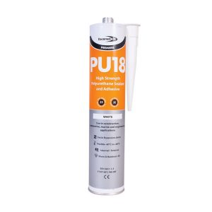 Bond It Premiere Range PU18 POLYURETHANE ADHESIVE & SEALANT.white