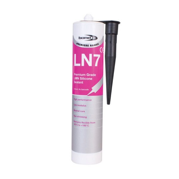 Bond It Premium Grade LN7 LMN SILICONE 310ml.black