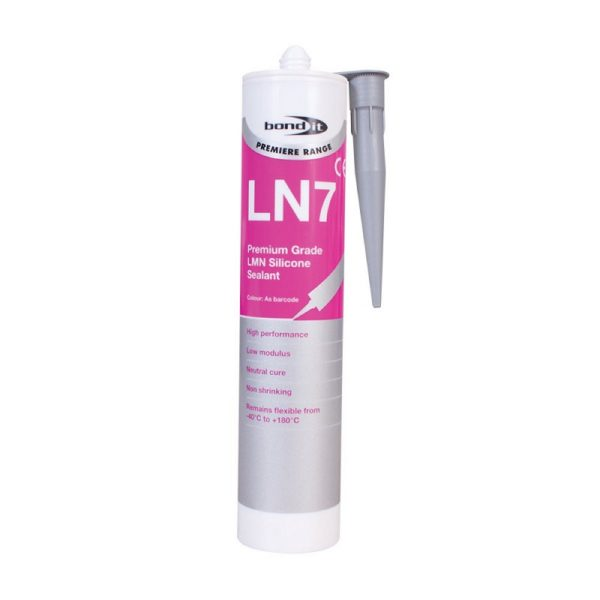 Bond It Premium Grade LN7 LMN SILICONE 310ml.Aluminium