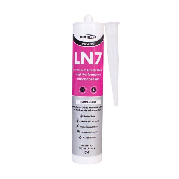 Bond It Premium Grade LN7 LMN SILICONE 310ml.translucent