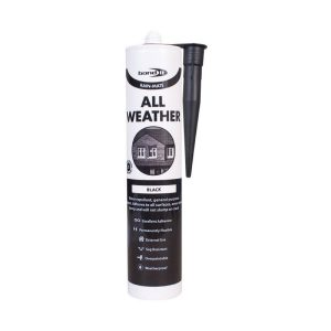 All Weather Sealant Rain Mate Roofing Tiles Slates Flat Pitched Glass Car Works Even In Rain Black