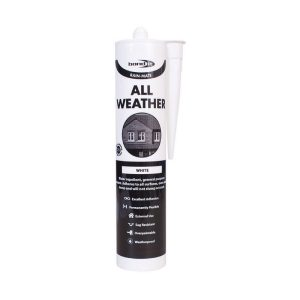 All Weather Sealant Rain Mate Roofing Tiles Slates Flat Pitched Glass Car Works Even In Rain White