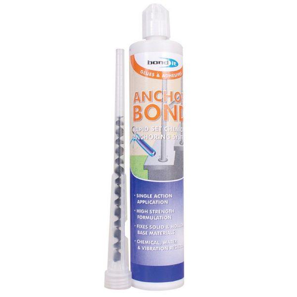 Bond It Resin Mortar ANCHOR BOND ADHESIVE Grey 310ml