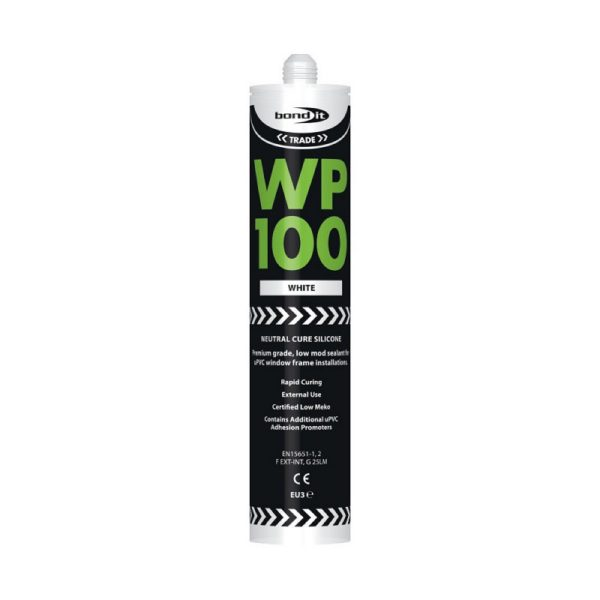 Bond It WP100 Neutral Cure OXIME SILICONE.white