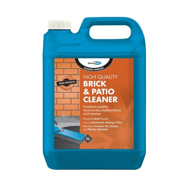 Bond It BRICK AND PATIO CLEANER Clear 5L