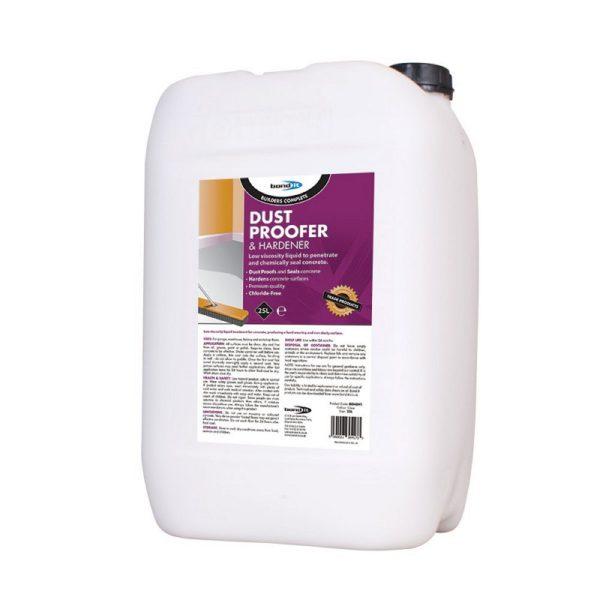 Bond It DUSTPROOFER & HARDENER Chloride-free Concrete Sealer Clear 25L