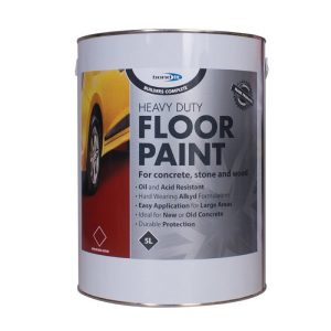 Bond It Heavy Duty ALKYD FLOOR PAINT Brick Red 5 Litres