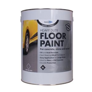 Bond It Heavy Duty ALKYD FLOOR PAINT Light Grey 5 Litres