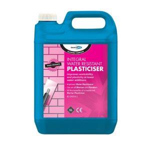 Bond It INTEGRAL WATER RESISTANT PLASTICISER Pink 5L