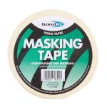 Bond It MASKING TAPE - 50m long Buff 48mm