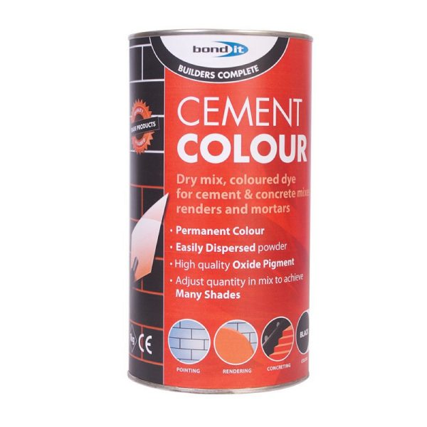 Bond It POWDERED CEMENT DYE Black 1Kg