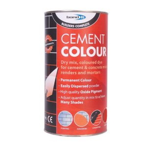 Bond It POWDERED CEMENT DYE Red 1Kg