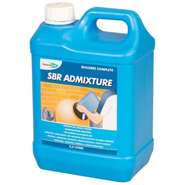 Bond It SBR ADMIXTURE styrene butadiene copolymer latex White 2.5L