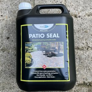 Patio Seal Driveway Sealer Oil Stain Resistant Concrete Stone Paving Slab Drive Clear Coat 5L