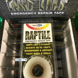 Clear Silicone Repair Tape Home Car DIY Fix Mechanics Builders Plumbers Emergency