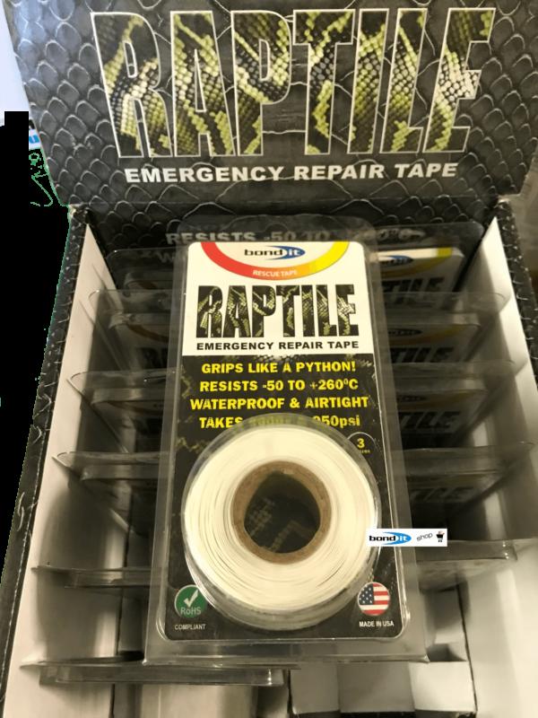 Silicone Repair Tape White Kitchen Bathroom DIY Fix Builders Plumbers Emergency Car Fix