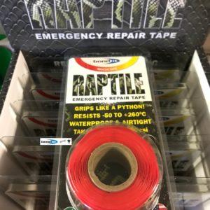 Silicone Repair Tape Kitchen Bathroom DIY Fix Red Builders Plumbers Emergency Car Fix