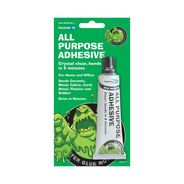 Bond It ALL PURPOSE ADHESIVE Glue Monster