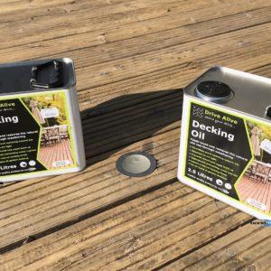 Decking Oil 2x 2.5L Revive & Restore Your Deck Wood For Summer Enjoyment & Safety