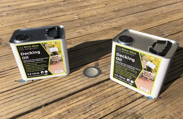 Decking Oil 2x 2.5L Revive & Restore Your Deck Wood For Summer Enjoyment & Safety