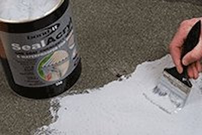One Coat Emergency Roof Repair Paint On Membrane Waterproofer Breathes Fibre Reinforced
