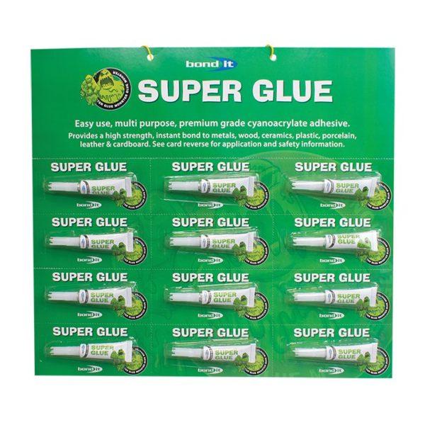 Super Glue Home Office Work Repair Metal Ceramic Plastic PVC Rubber Leather & More 1x 3g