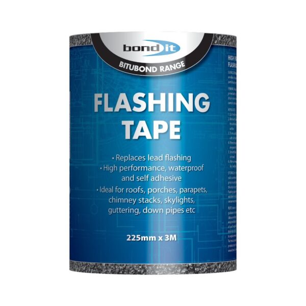 Flashing Flash Tape Roof Repair Seal It 225mm X 3M Including Tin of Primer