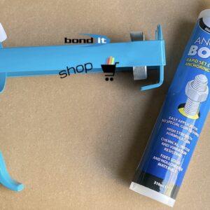 Resin Mortar Anchor Bond Adhesive Grey 310ml & 380ml Pro Anchor Bond Gun Applicator For Fixing Bolt Stud Securing
