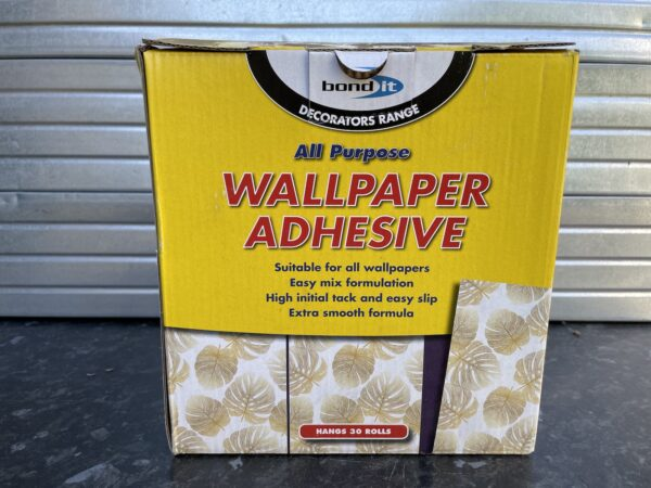 Wallpaper Adhesive Decorating Wall Paper Glue Home DIY Trade Quality Hangs 30 Rolls