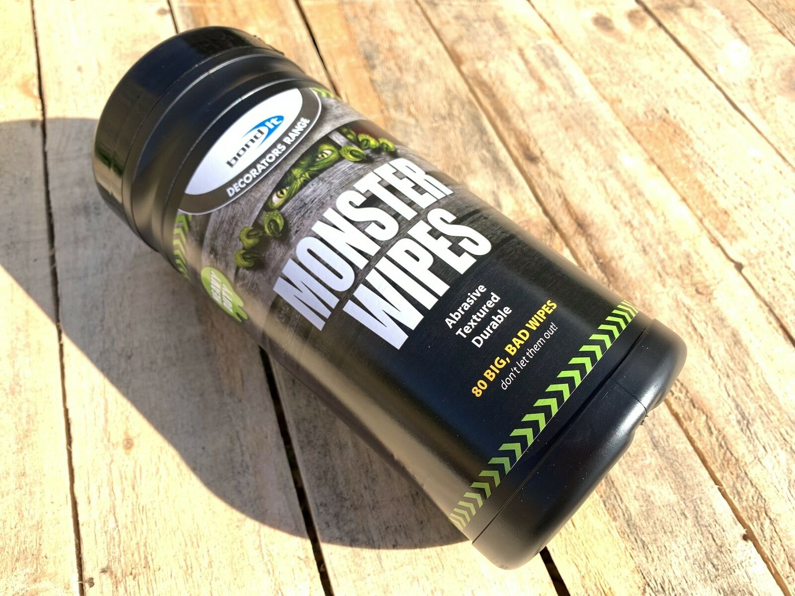 Hand Cleaning Monster Wipes For Home Improvement DIY Trades Mechanics Decorators