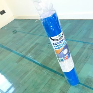 25m 50m 100m Painters Decorators Laminate Floor Tile Protector Sticky Back Roll