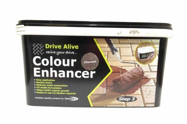 Brick Block Driveway Colour Enhancer Charcoal Path Paving Revive Your Drive