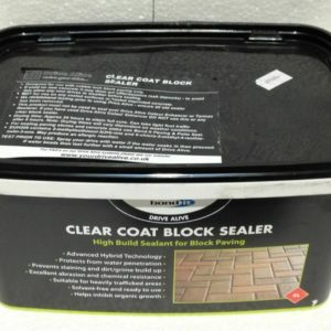Brick Block Driveway Sealer Clear Coat New Drives Path Paving Revival