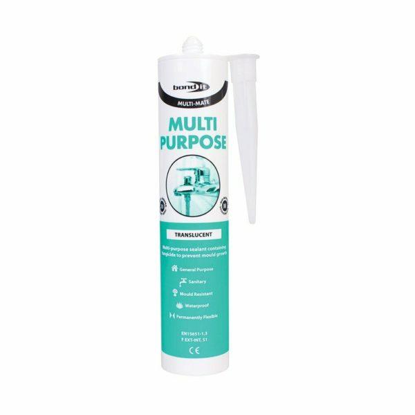 Multi Purpose Clear Anti Fungal Silicone Kitchen Tiles Worktop Bathroom Shower