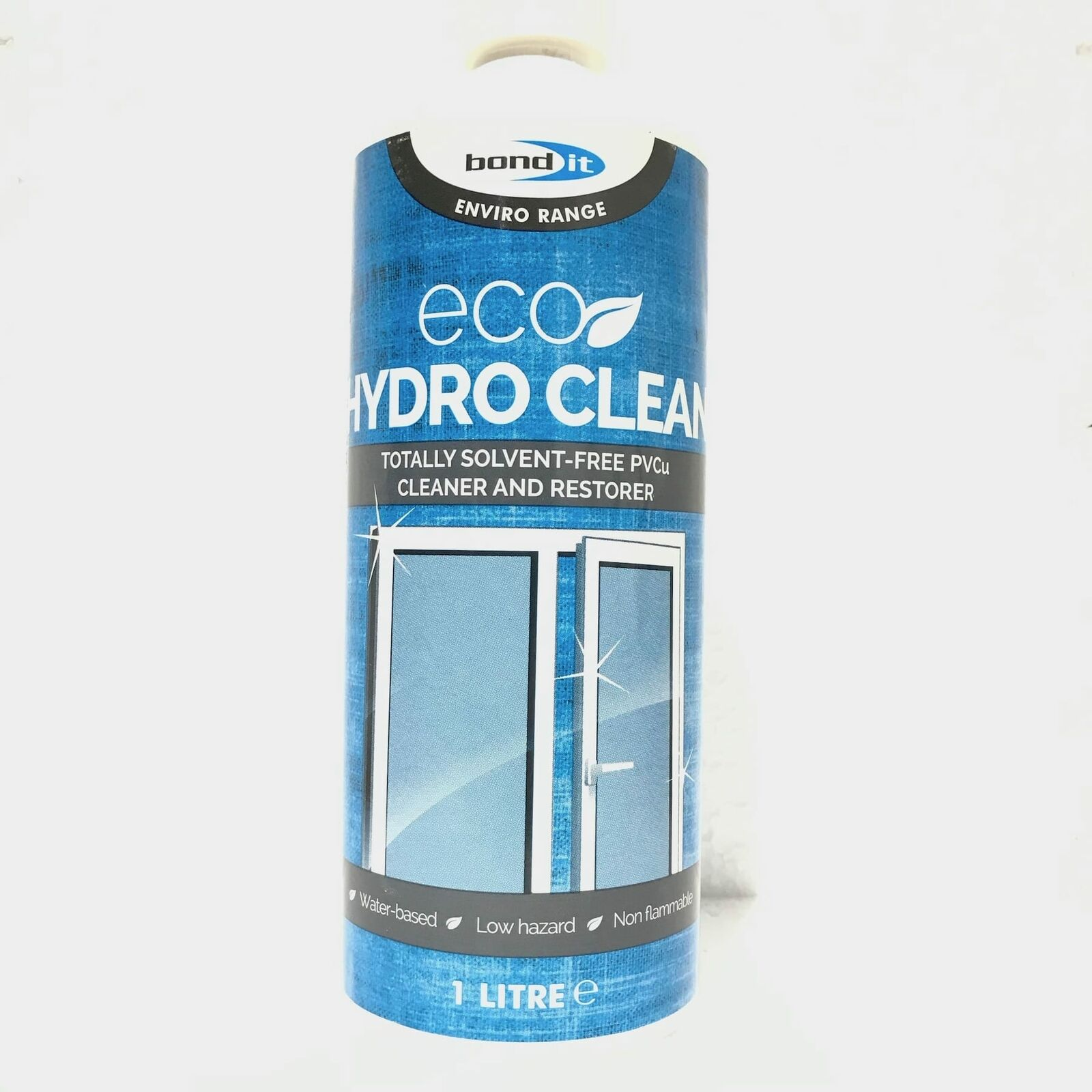 PVCu Plastic Window Door Cleaner & Restorer uPVC Rid Dirt Eco Friendly Fast Acting 1L