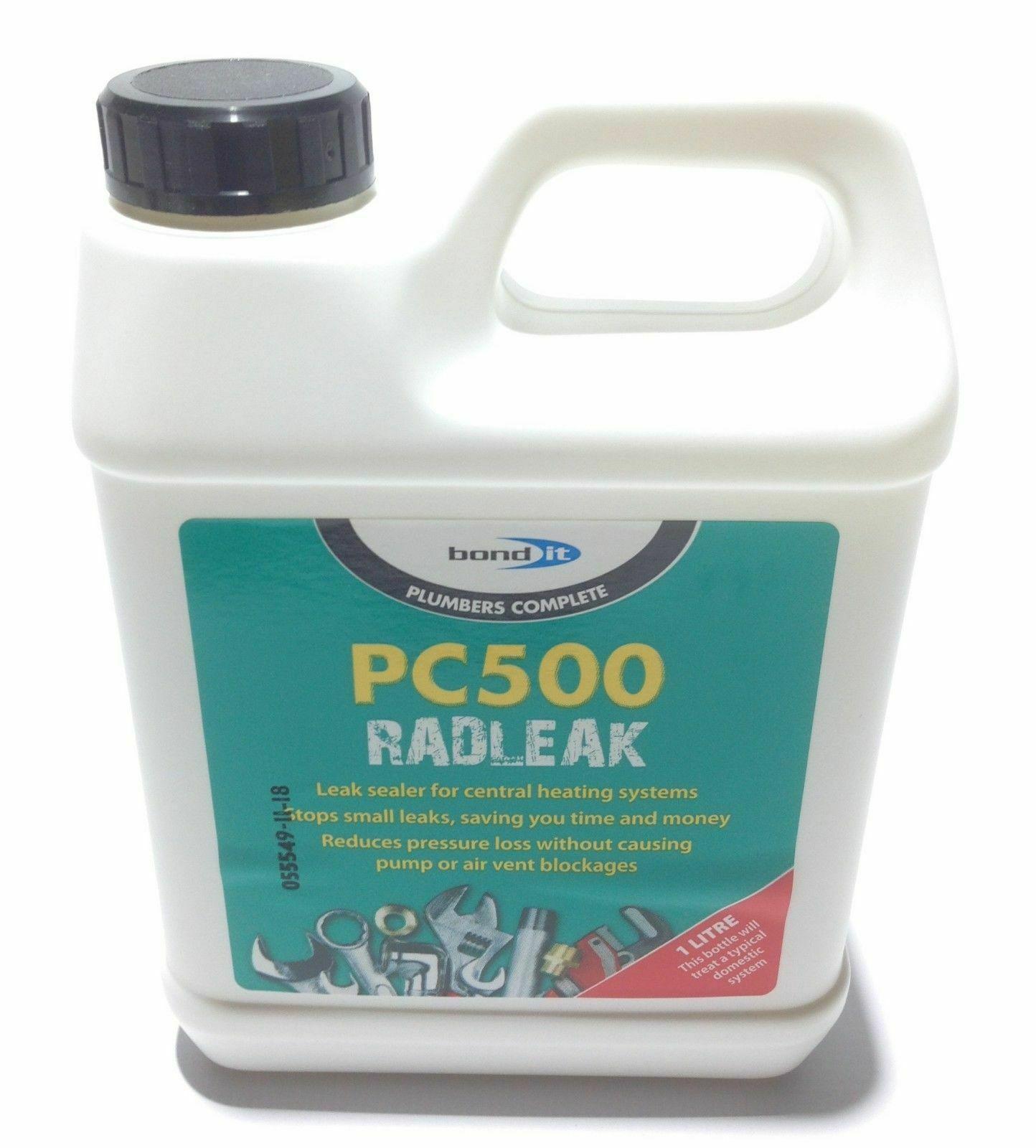 Radiator Boiler Central Heating System Pipe Leak Sealer PC500 Rad Leak