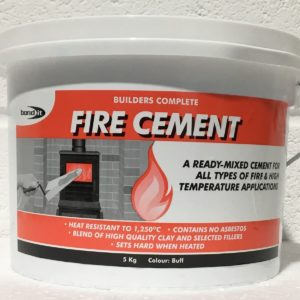 Fire Cement Fire Place Fire Flame Proofing Stove Cooker Aga Flue Outlet 5KG